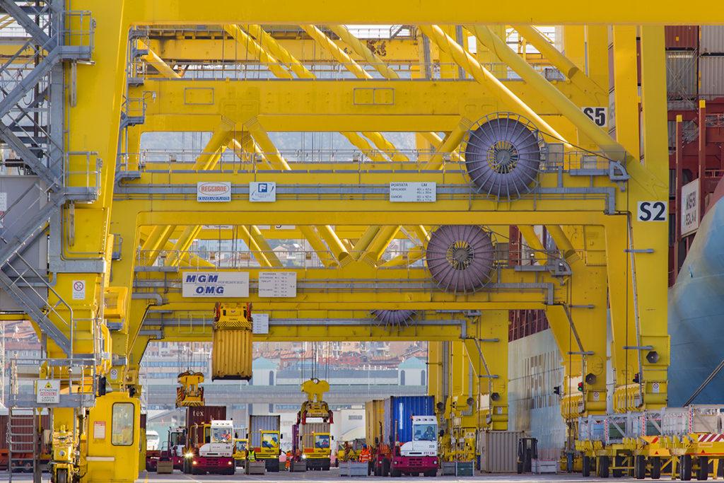 Folyamatos kapacitásnövekedés Trieszt kikötőjében
