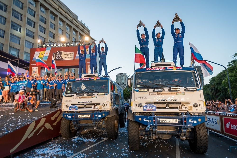 Az orosz KAMAZ-Master csapat nyerte meg a Dakar Ralit és az Africa Eco Race-t