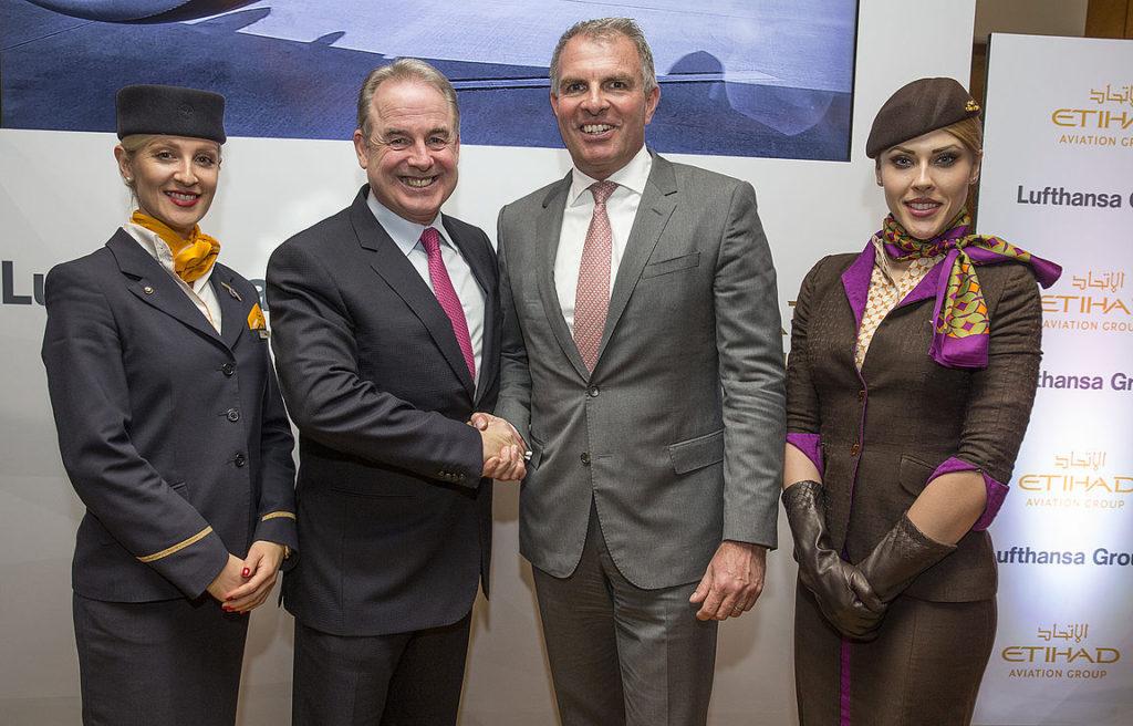 Kibővíti együttműködését az Etihad Aviation Group és a Lufthansa Group
