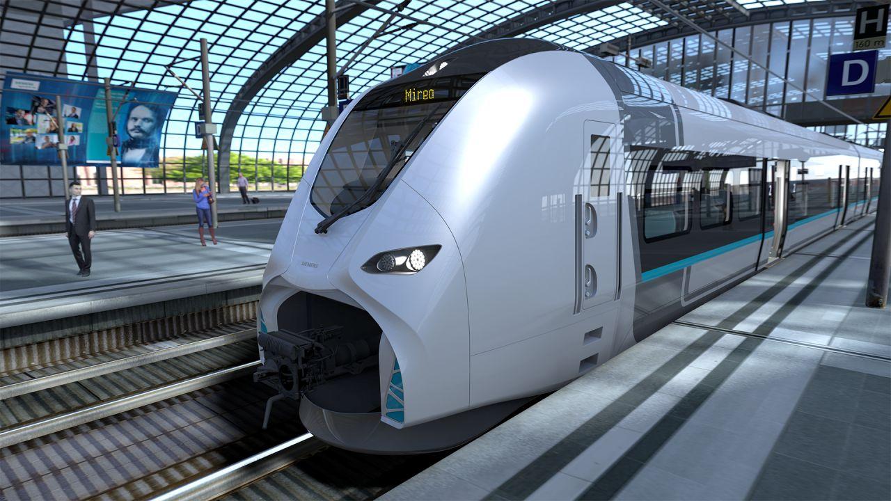 A DB Regio 39 darab, több egységből álló regionális vasúti szerelvényt rendelt a Siemenstől