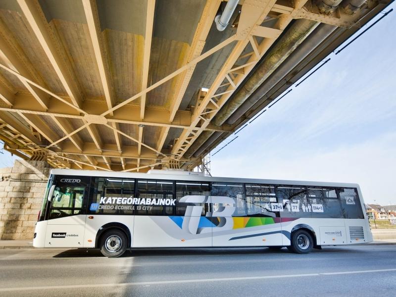 Nagy és keveset fogyaszt: itt a legújabb magyar busz