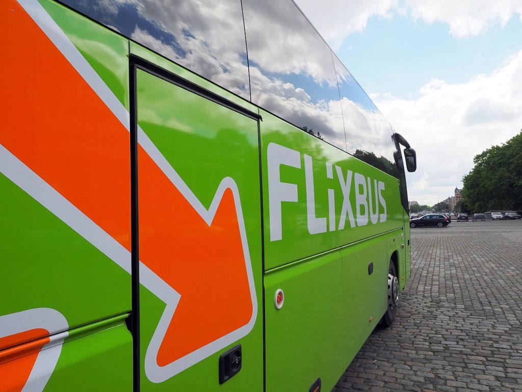 A FlixBus járatai a Google útvonal-tervezőjében