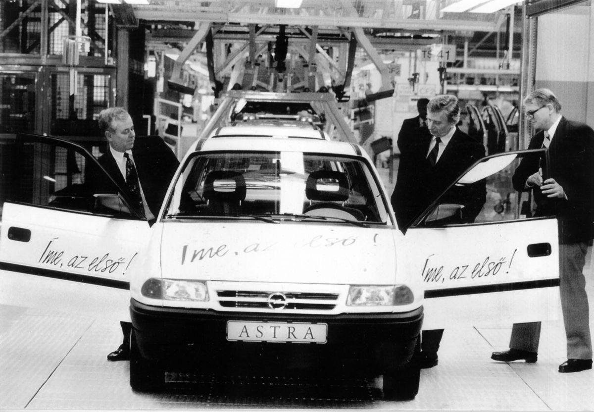 25 éves az első magyar Opel Astra