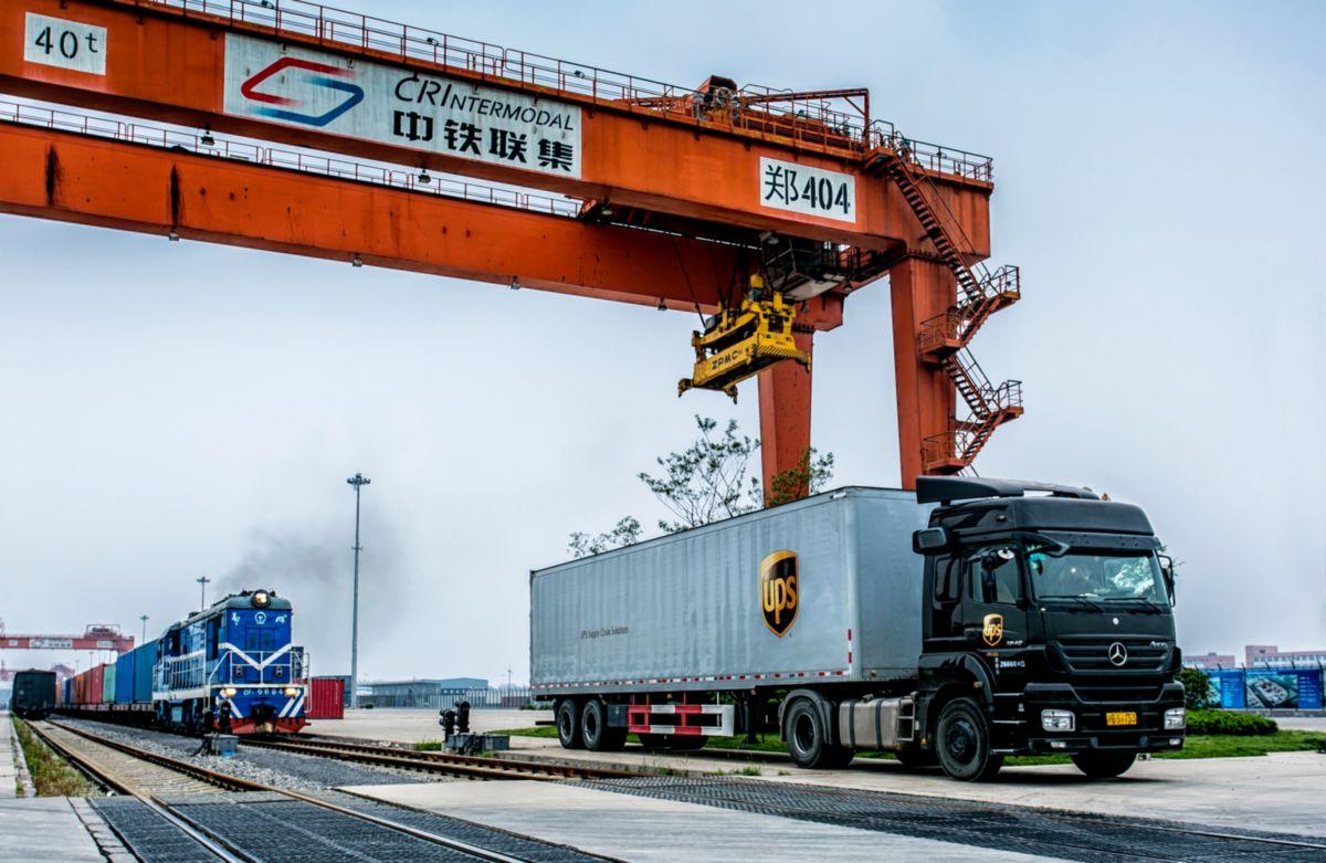 A UPS bővíti Európa és Kína közötti vasúti szállímányozási szolgáltatását