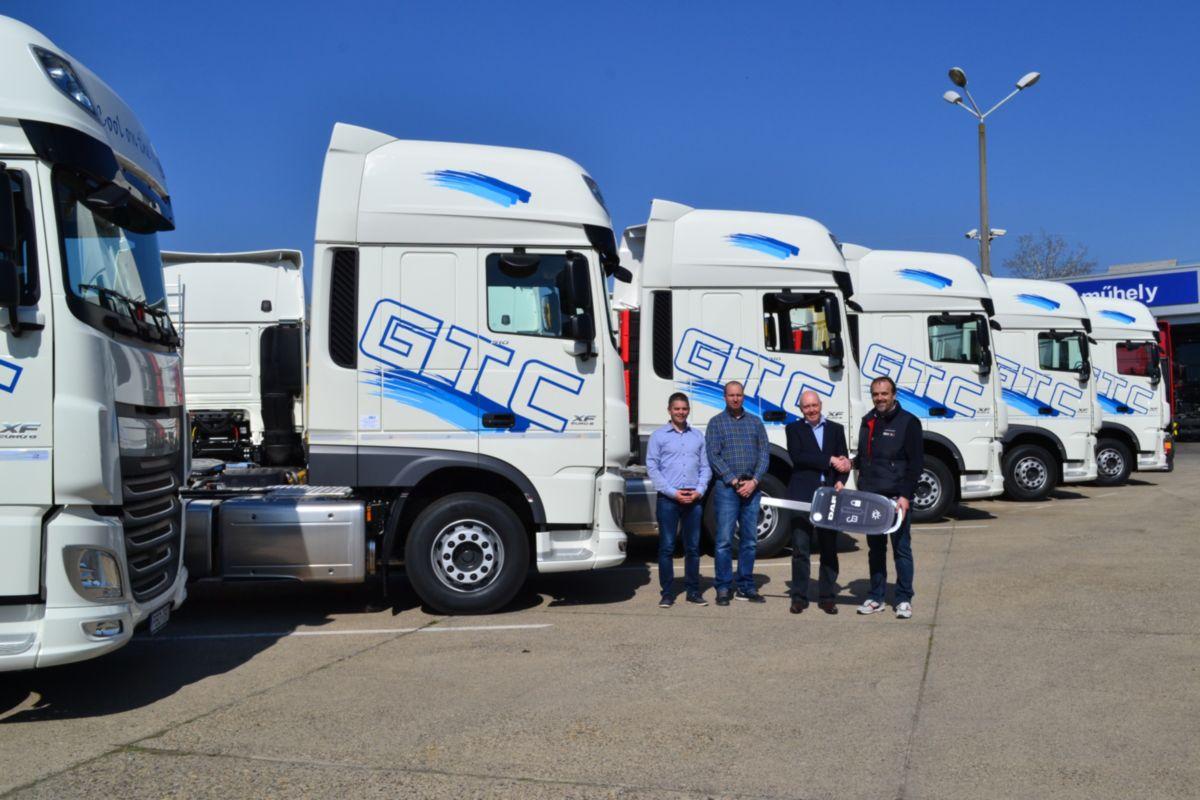 26 új DAF nyerges vontatót szerzett be a General TransportCompany Kft.
