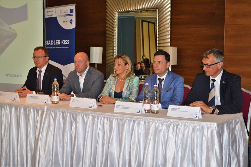 Kiemelt jelentőségű keretmegállapodást írt alá a MÁV-START Zrt. és a Stadler Bussnang AG.
