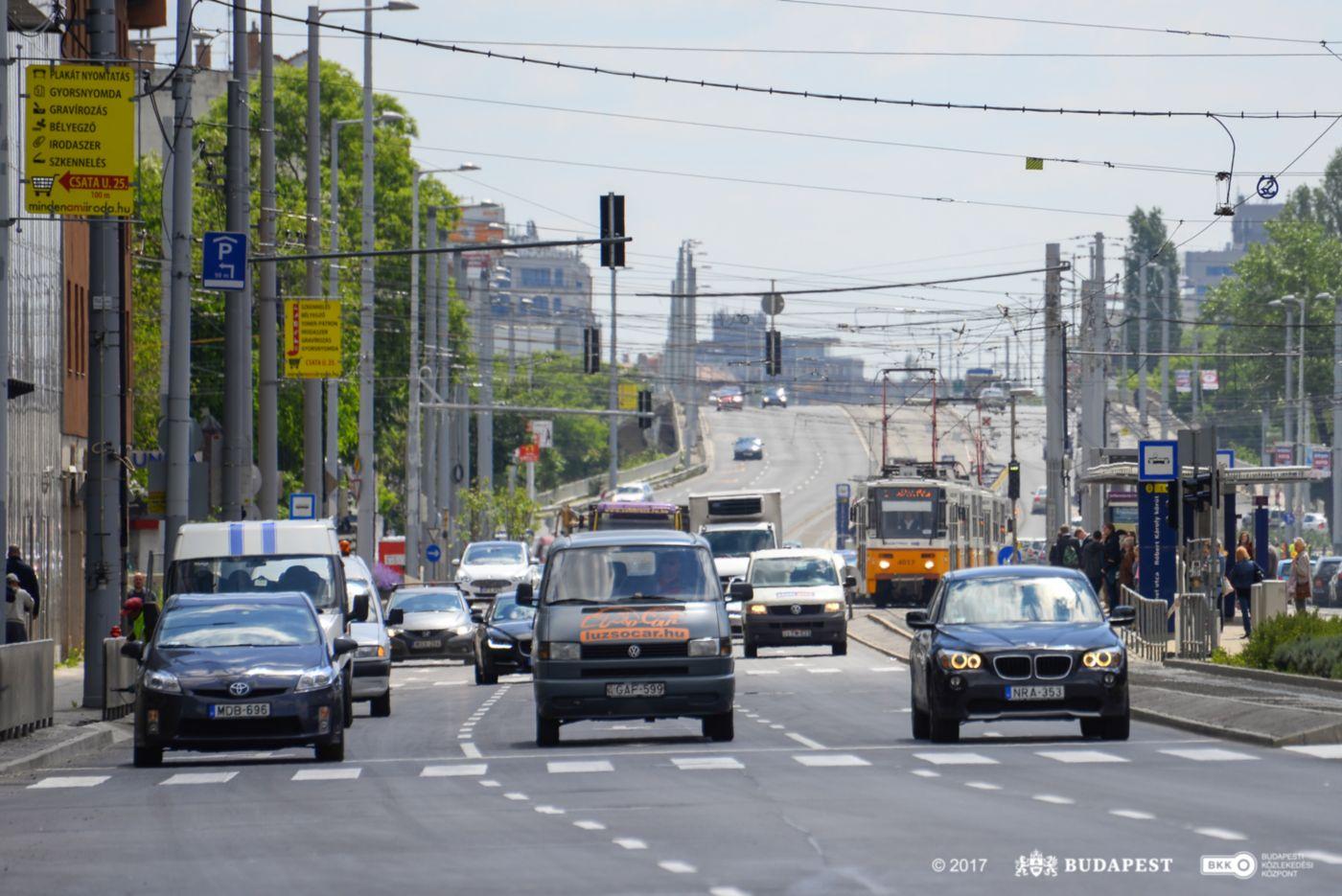 Újra a fővárosiaké a Róbert Károly körút felújított szakasza május 14-től