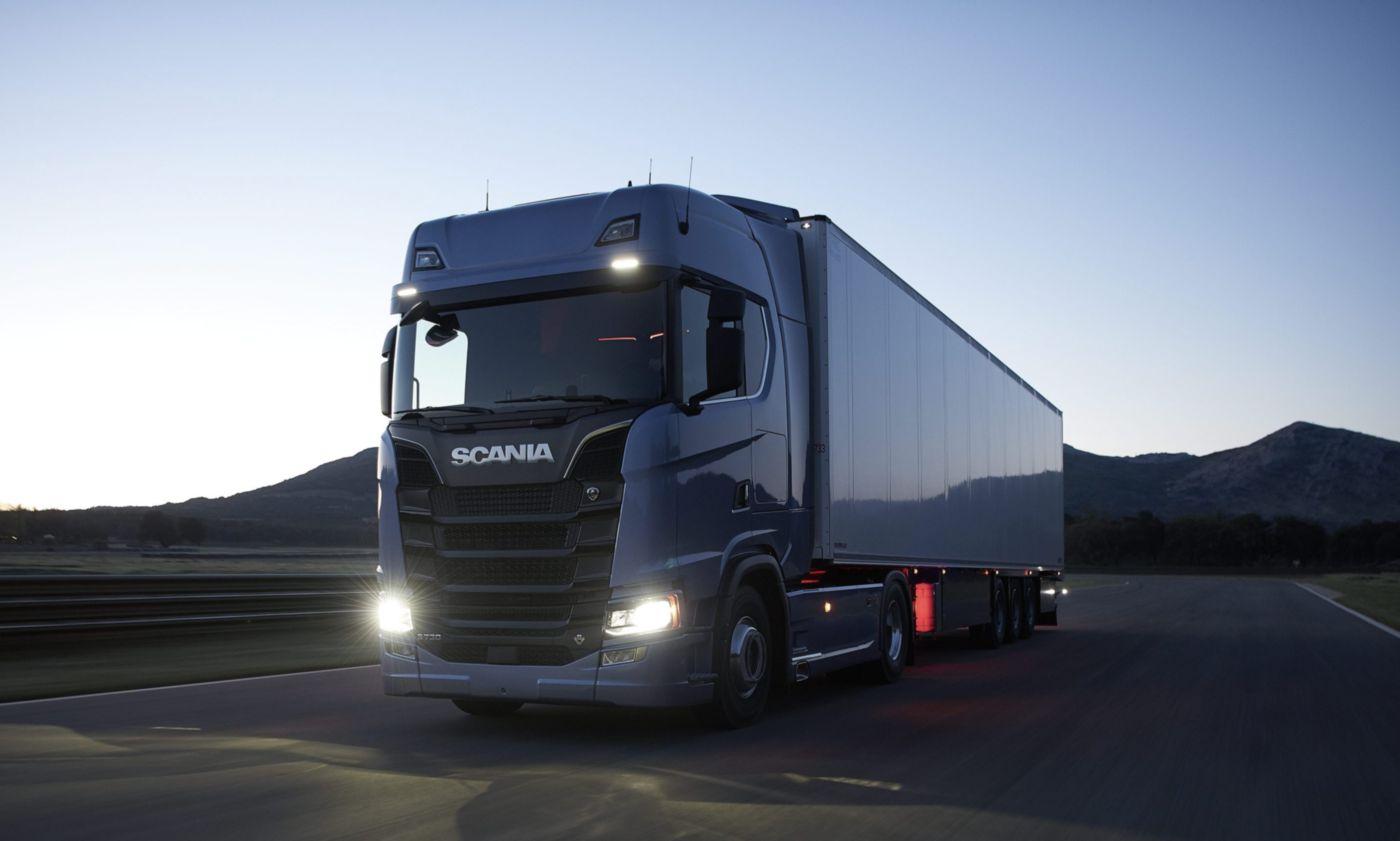 Új szolgáltatás a Scania Flottamenedzsment rendszerben