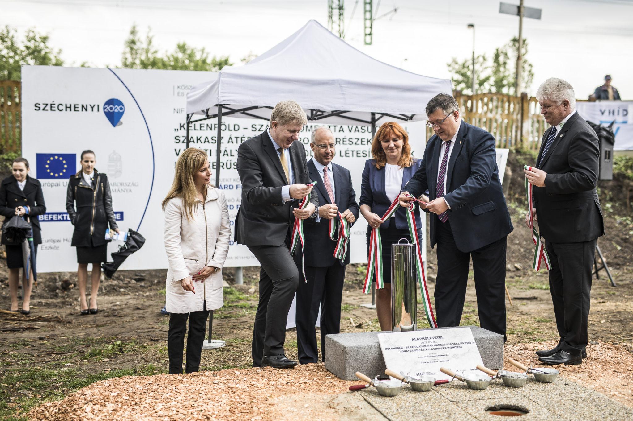 Megkezdődött a Kelenföld-Százhalombatta vasútvonal korszerűsítése