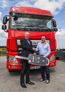 Húsz új DAF vontatót szerzett be Éder Zoltán egyéni vállalkozó