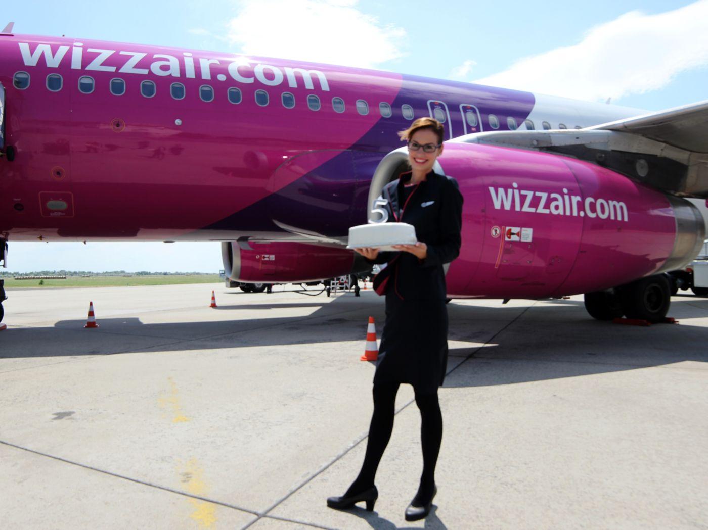 A Wizz Air vasárnap ünnepelte debreceni működésének 5. évfordulóját.