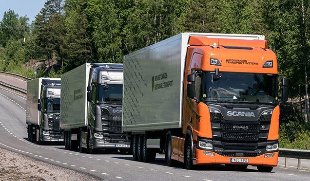Felkészülnek az intelligens kamionkonvojokra