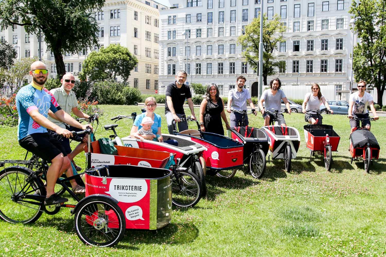 Ingyen lehet teherbiciklit bérelni Bécsben