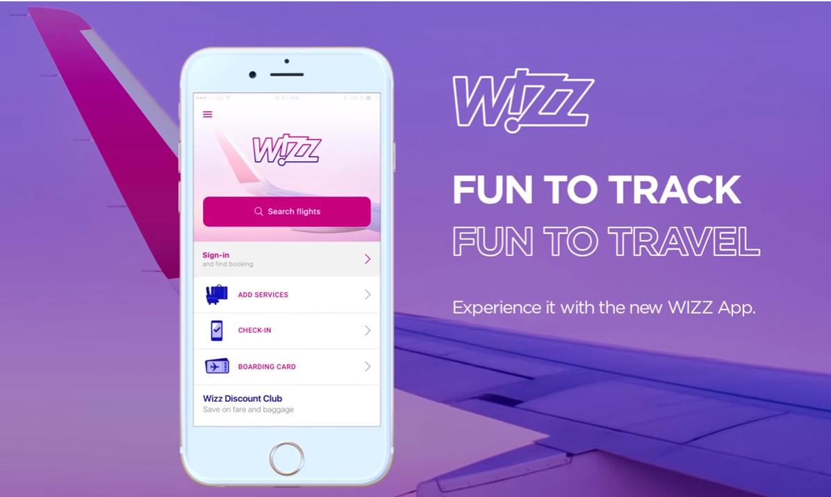 Új mobilalkalmazás a WIZZ Airtől