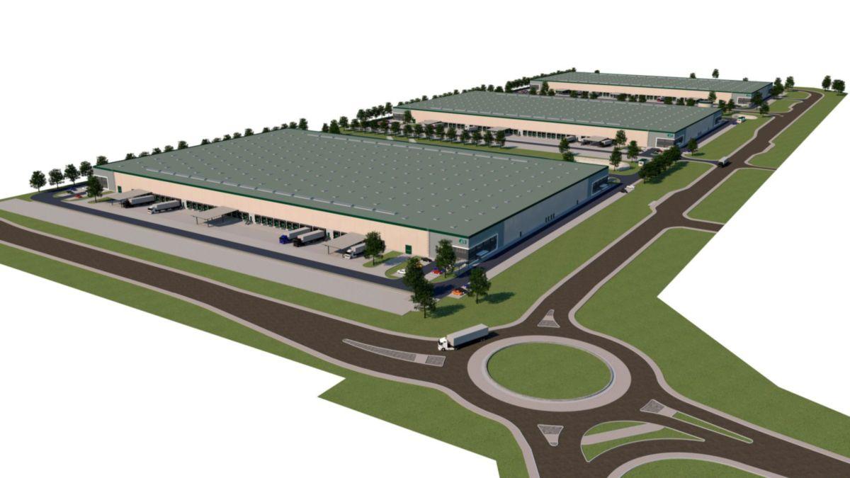 A Prologis letette két új, összesen 62.325 négyzetméteres épület alapkövét