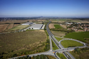 Új spekulatív épület a teljesen megtelt Prologis Park Prague-Uzice területén