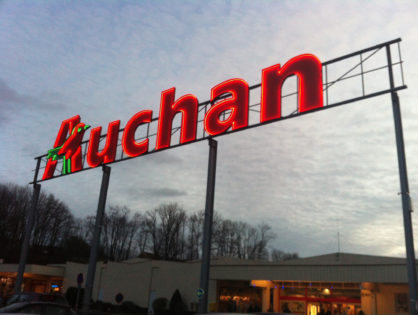 Hatalmas logisztikai beruházás az Auchannál