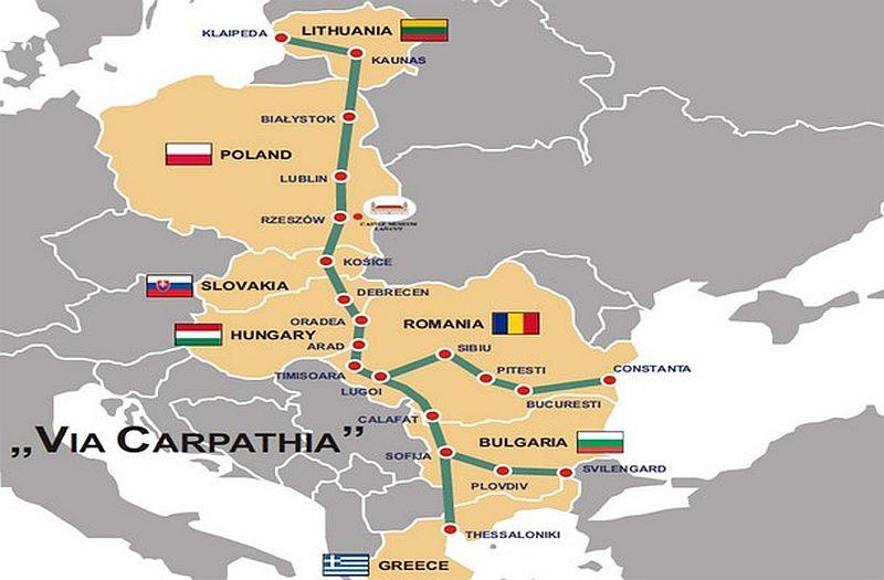 Szabad jelzés a Via Carpatiának Romániában
