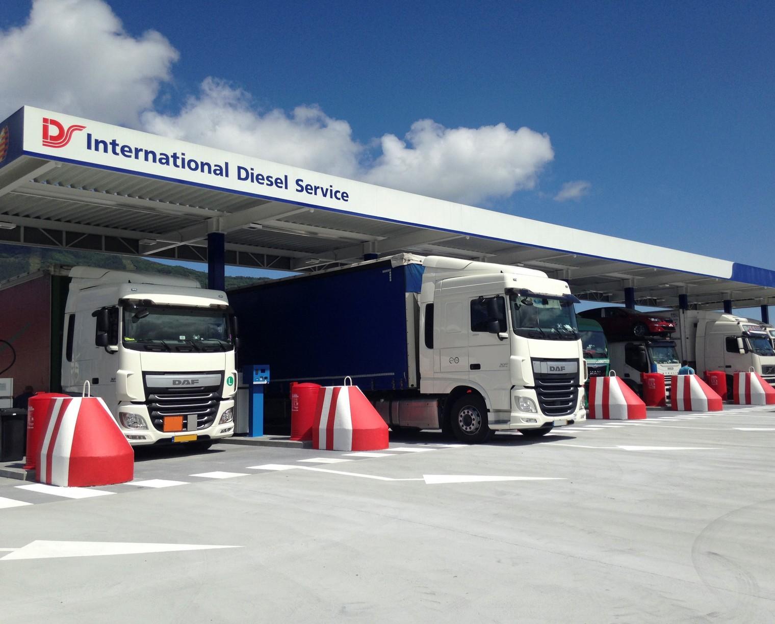 IDS üzemanyagkártya teherautókhoz: 100%-os, bankkártyaszintű biztonság