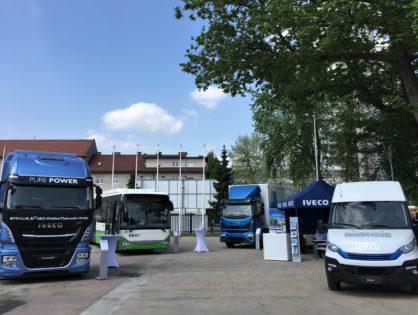 Földgázüzemű modelljei teljes termékpalettájával érkezett az IVECO a  TEN-T Days 2018 konferenciájára