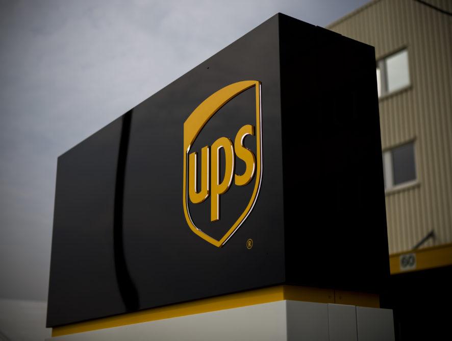 A UPS 17 százalékkal növelte az egy részvényre jutó bevételeit az első negyedévben