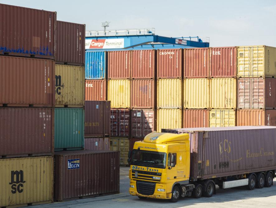 Beolvad a Kelenföld Konténer Depo a Rail Cargo Terminal - BILK-be