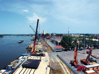Bajai kikötő: kezdődik a fejlesztés