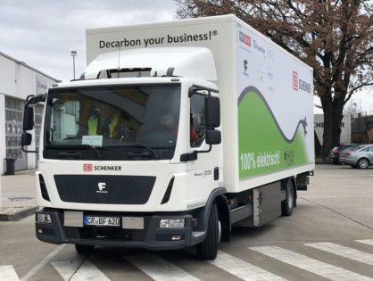 A DB Schenker Berlinben mutatta be az iHub projektet