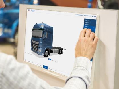 DAF tehergépkocsi-konfigurátor: az iparág legjobbja