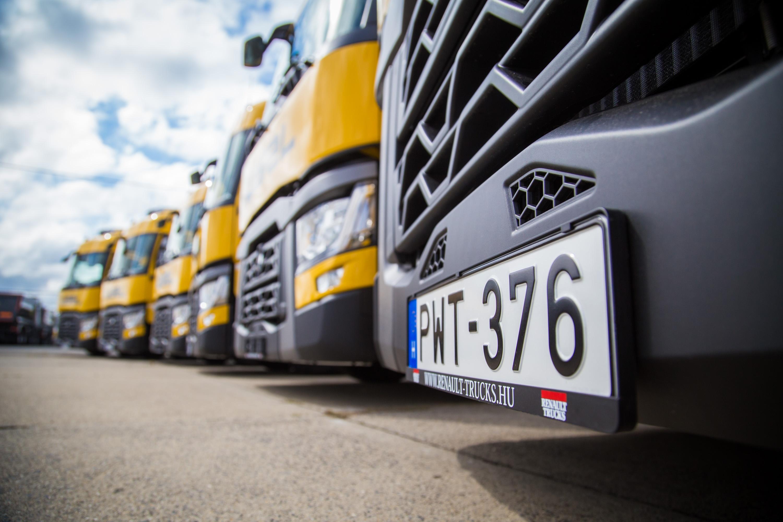 Megérkezett a 100. Renault Trucks vontató a Waberer's-hez