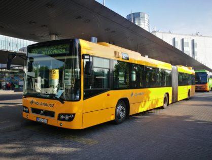 Sokszínű autóbuszpark