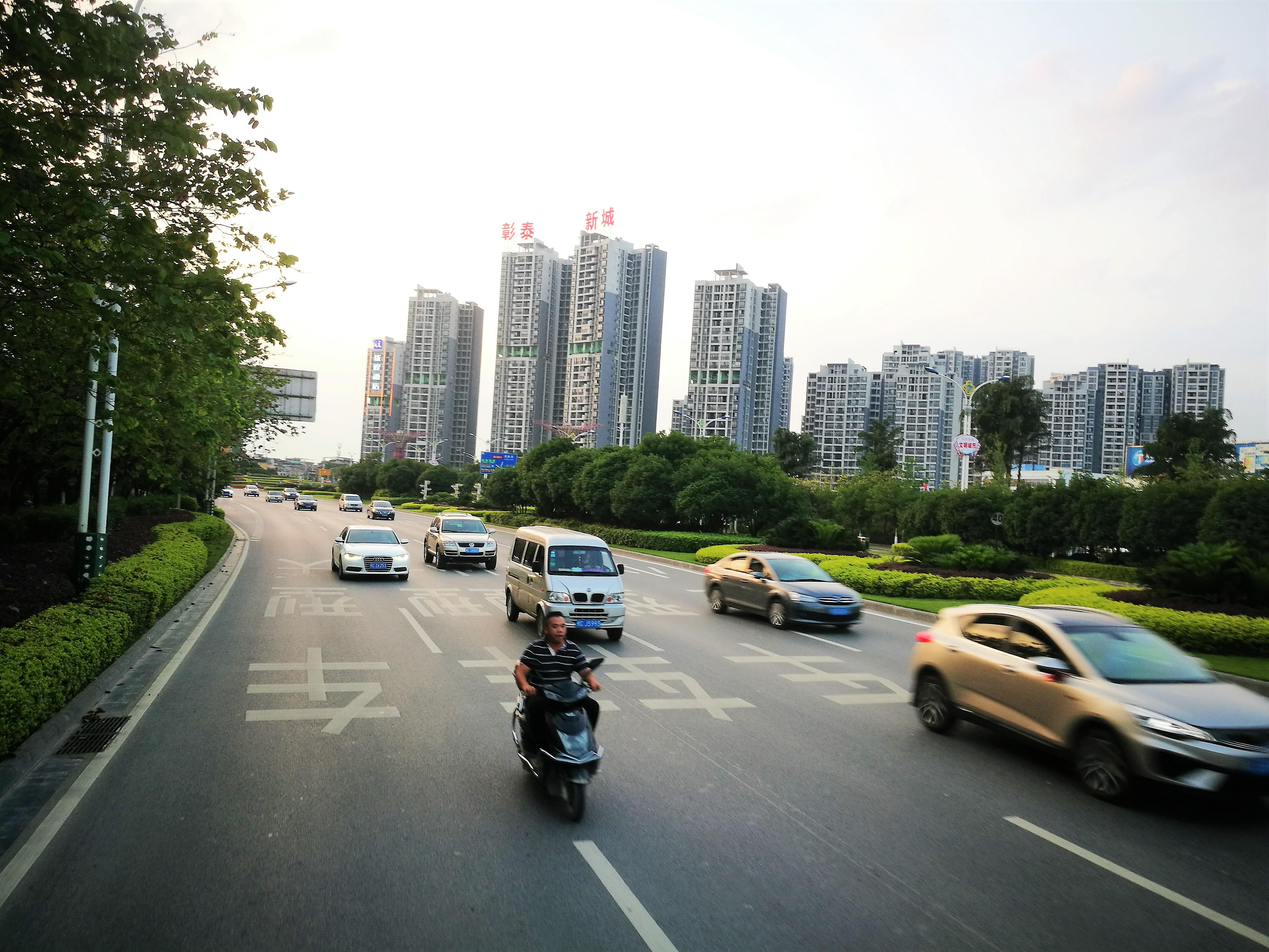 Kína közlekedése a jövőbe tekint