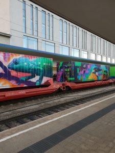 Noé vonata, a környezetbarát árufuvarozás nagykövete