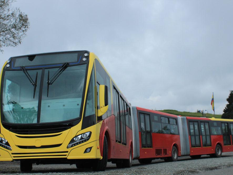 A Scania 741 gázüzemű buszt szállít Bogotának