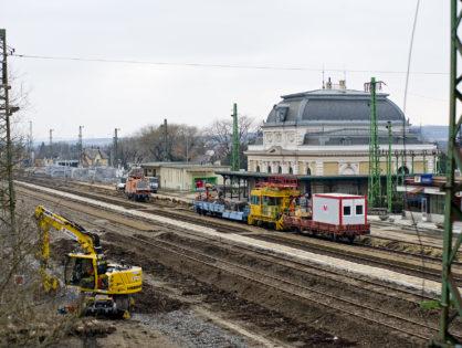 Budapest–Hatvan: a vágányzár ellenére maradtak az utasok