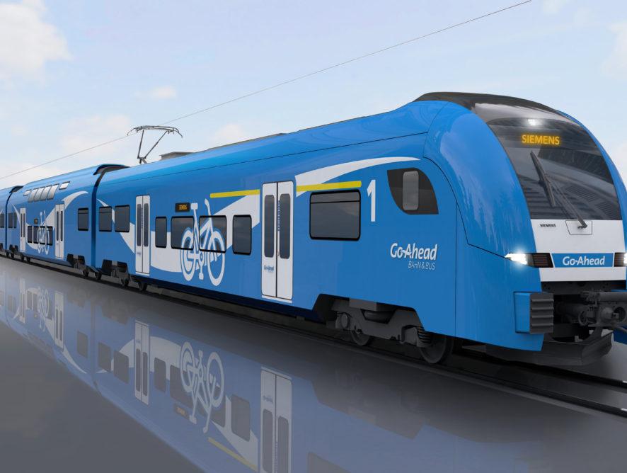56 regionális vonat az augsburgi vasúthálózat számára