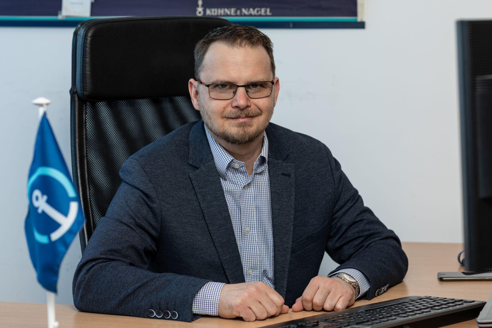 Pekár János, a Kühne + Nagel Magyarország beszerzési vezetője