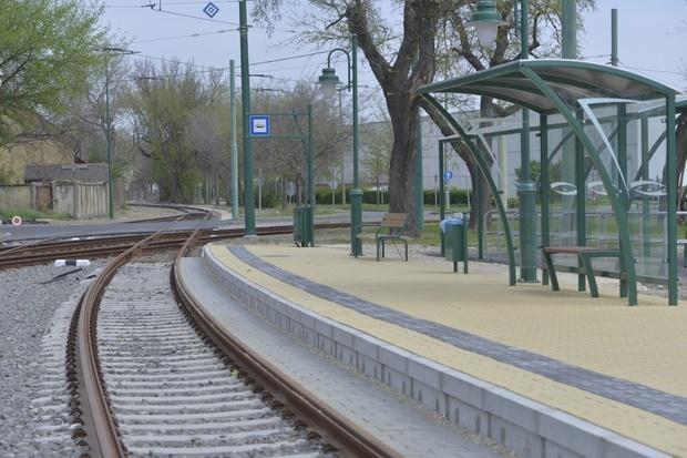 Bekötötték az SZKT vágányhálózatába a tram-train vágányt
