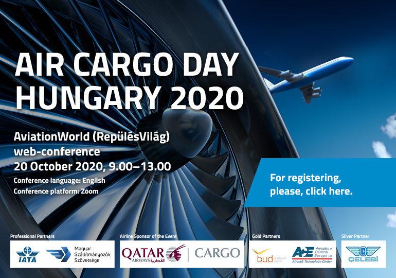 RepülésVilág AIR CARGO DAY HUNGARY 2020 - ingyenes, online konferencia