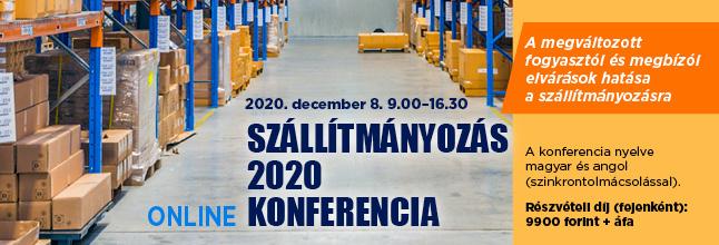 Szállítmányozás 2020 online konferencia