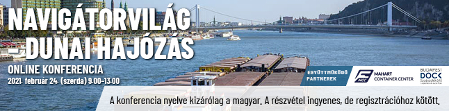 NavigátorVilág – Dunai hajózás online konferencia