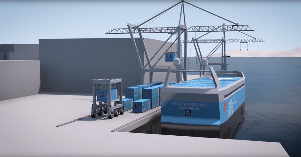 Elektromos önjáró teherhajót épít Norvégia