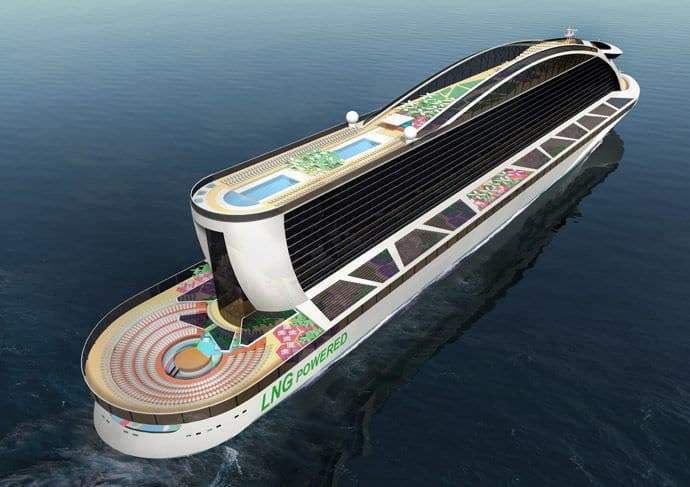 Hamarosan megépül a világ legnagyobb utasszállító hajója