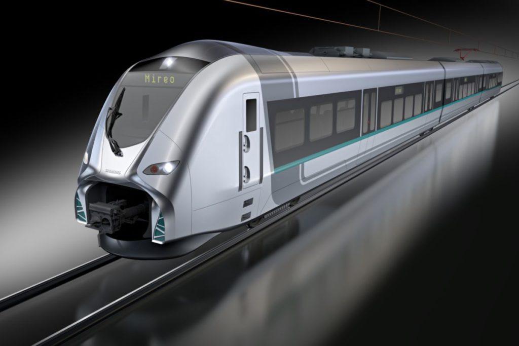 57 Siemens Mireo a DB Regio számára