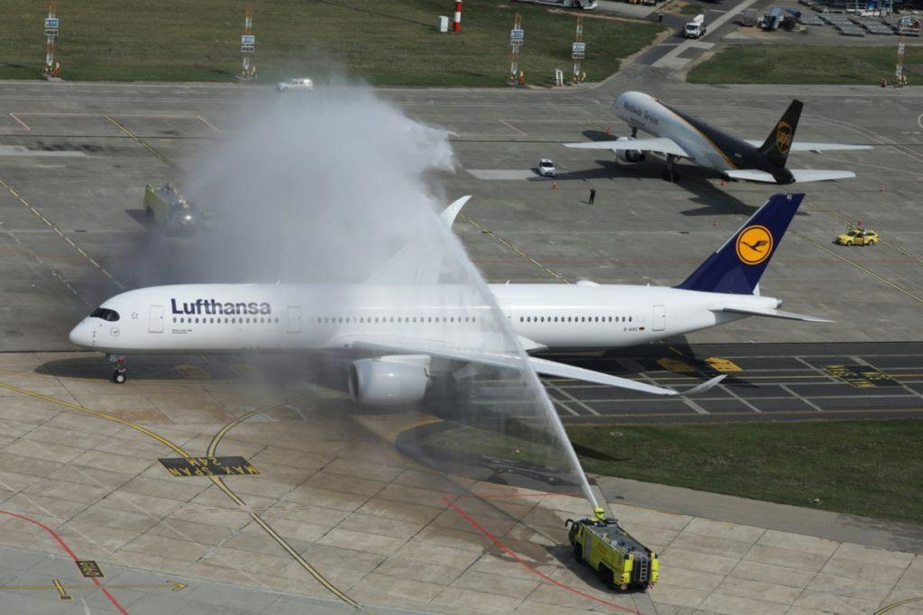 Először Budapesten az Airbus A350-es