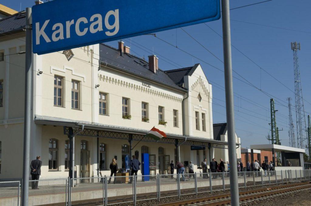 Megújult a karcagi vasútállomás