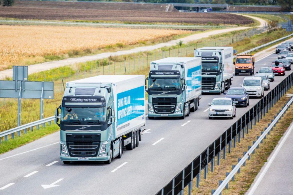 A közúti árufuvarozás jövője: a platooning, mint lehetséges megoldás