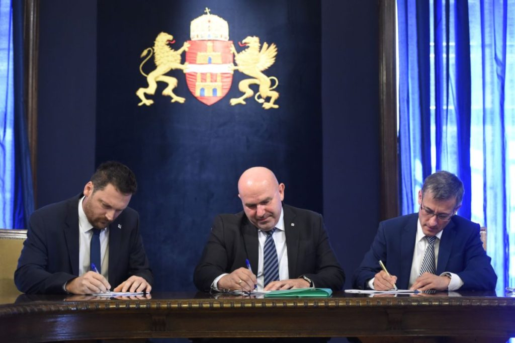 Aláírták a metró északi szakaszára vonatkozó szerződéseket