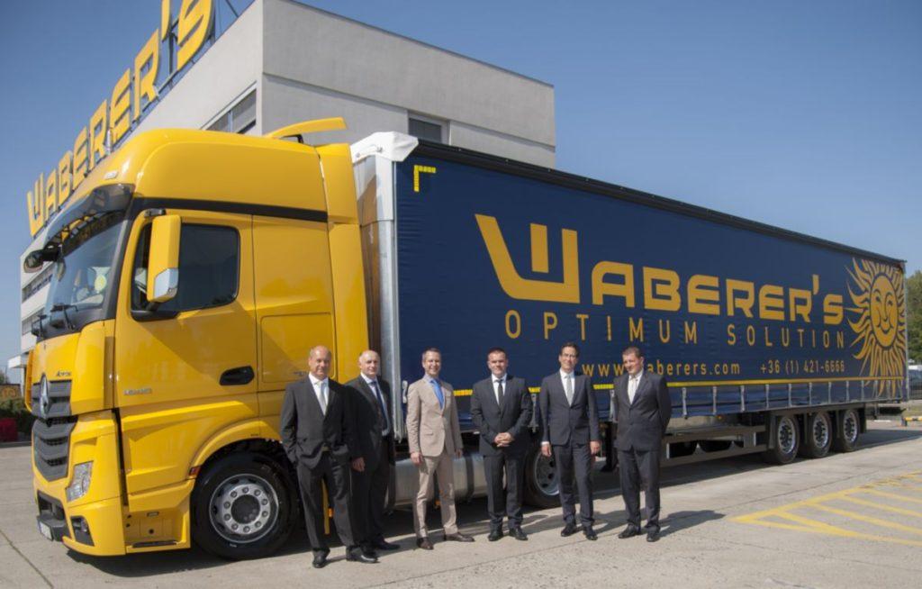 Folytatódó együttműködés a Waberer's és a Michelin között