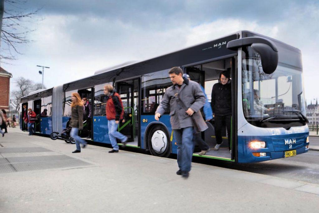 MAN csuklós buszok állnak üzembe Tatabányán